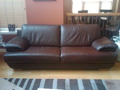 After, sofa, Leather Repair, Leather Dye, Leather Seats | Dallas, Plano